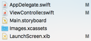 One swift file per view controller